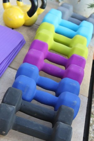 Weight bearing exercise for women