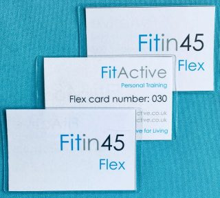 Fit in 45 Flex cards